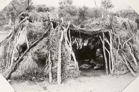 Aboriginal wurley-traditional hut